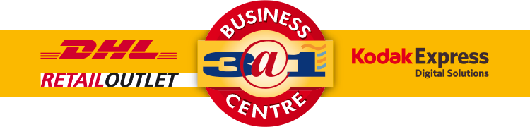 3@1 Business Centre Franchise Logo